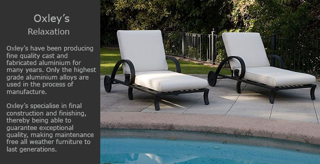 Oxley's sun loungers